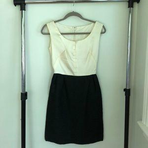 Vintage Black and Cream Dress